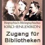 Das biographisch-bibliographische Kirchenlexikon (Umschlagsbild)