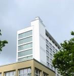 Turm der Saarländische Universitäts- und Landesbibliothek Foto: Iris Maurer